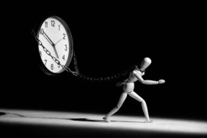 La tua paura è il tempo?